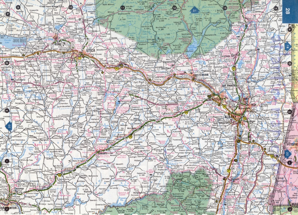 Road Map Of Nys And Travel Information | Download Free Road Map Of Nys - Road Map Of New York State Printable