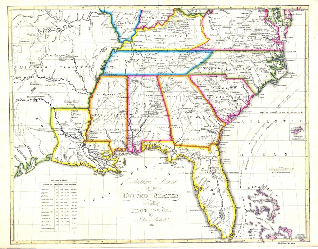 Road Map Of Southeastern United States Usroad Awesome Gbcwoodstock - Southeast States Map Printable