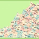 Road Map Of Virginia With Cities   Printable Map Of Virginia