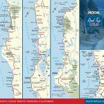 Road Trip California On The Classic Pacific Coast Route | Road Trip Usa   Detailed Map Of California Coastline