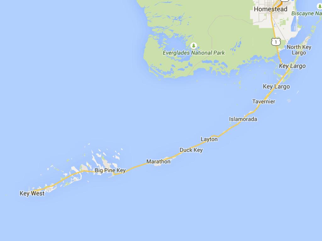 Road Trip: Florida Keys Mile-Marker Guide | Florida Rambler | Key - Florida Keys Map With Mile Markers