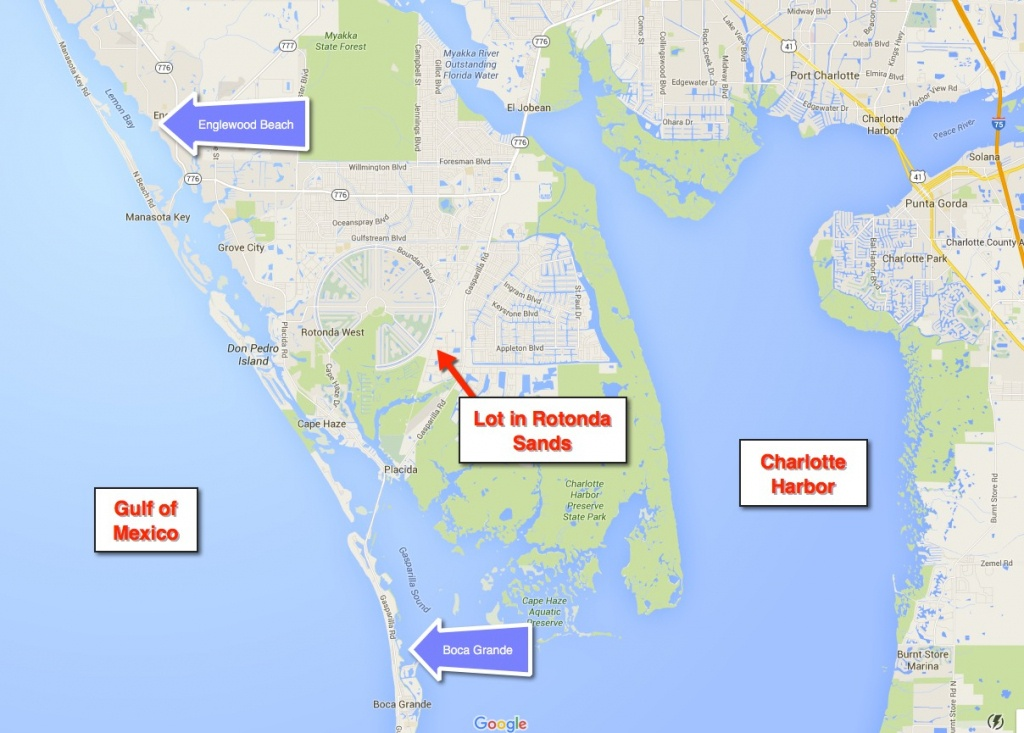 Rotonda West Florida Map | Fysiotherapieamstelstreek - Rotonda Florida Map