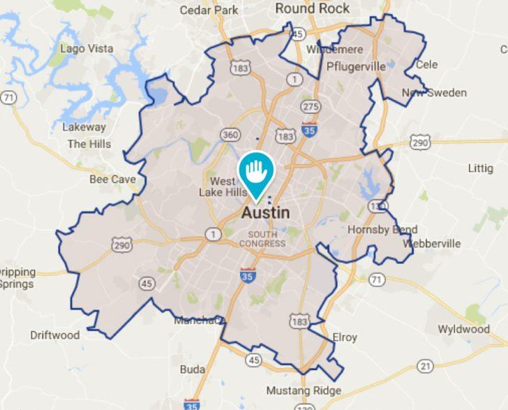 Cedar Park Texas Map