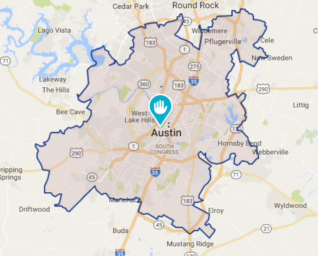 Round Rock Tx House Cleaning And Maids | Morehands - Georgetown Texas Map