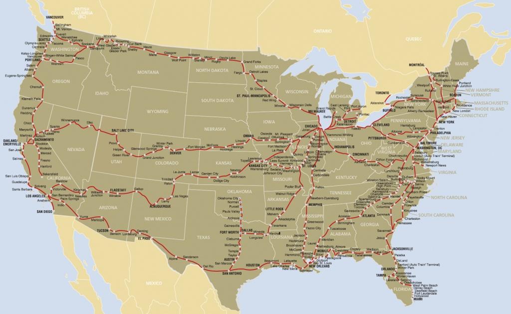Runs Near Amtrak Routes --- 5K, 10K, Marathons - Amtrak Florida Route Map