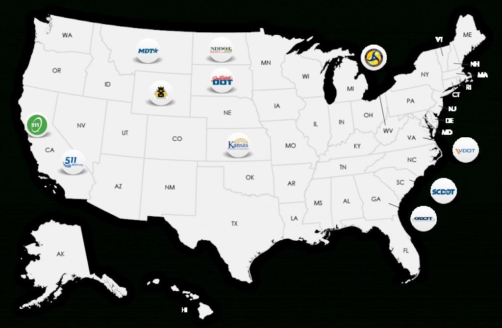 Safetravelusa - California 511 Map