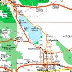 Salton Sea Road Map   Salton Sea California Map