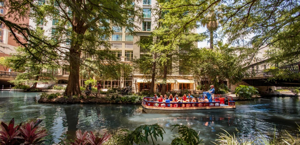 San Antonio Area Map | The Hotel Contessa On The Riverwalk - Map Of Hotels In San Antonio Texas