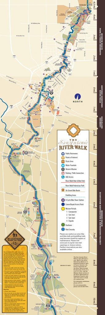 San Antonio Riverwalk Map - Map Of Hotels Near Riverwalk In San Antonio Texas