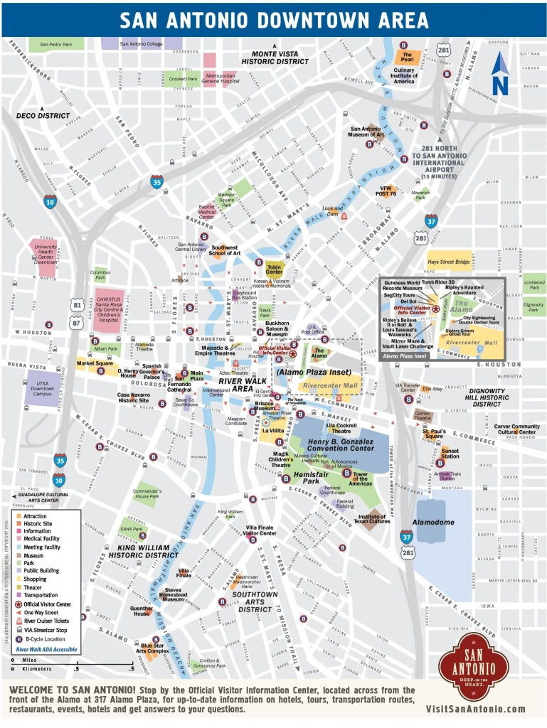 San Antonio Street Map - Carte De Rue De San Antonio Au Texas (Texas - Detailed Map Of San Antonio Texas