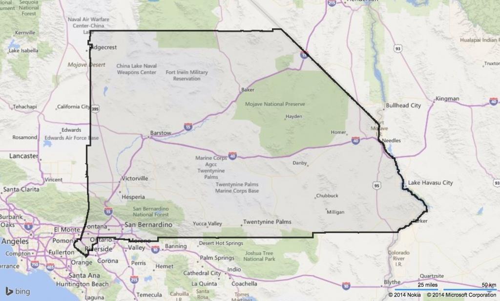 San Bernardino County Map Map New Of San Bernardino County Map With - Map Of Cities In San Bernardino County California