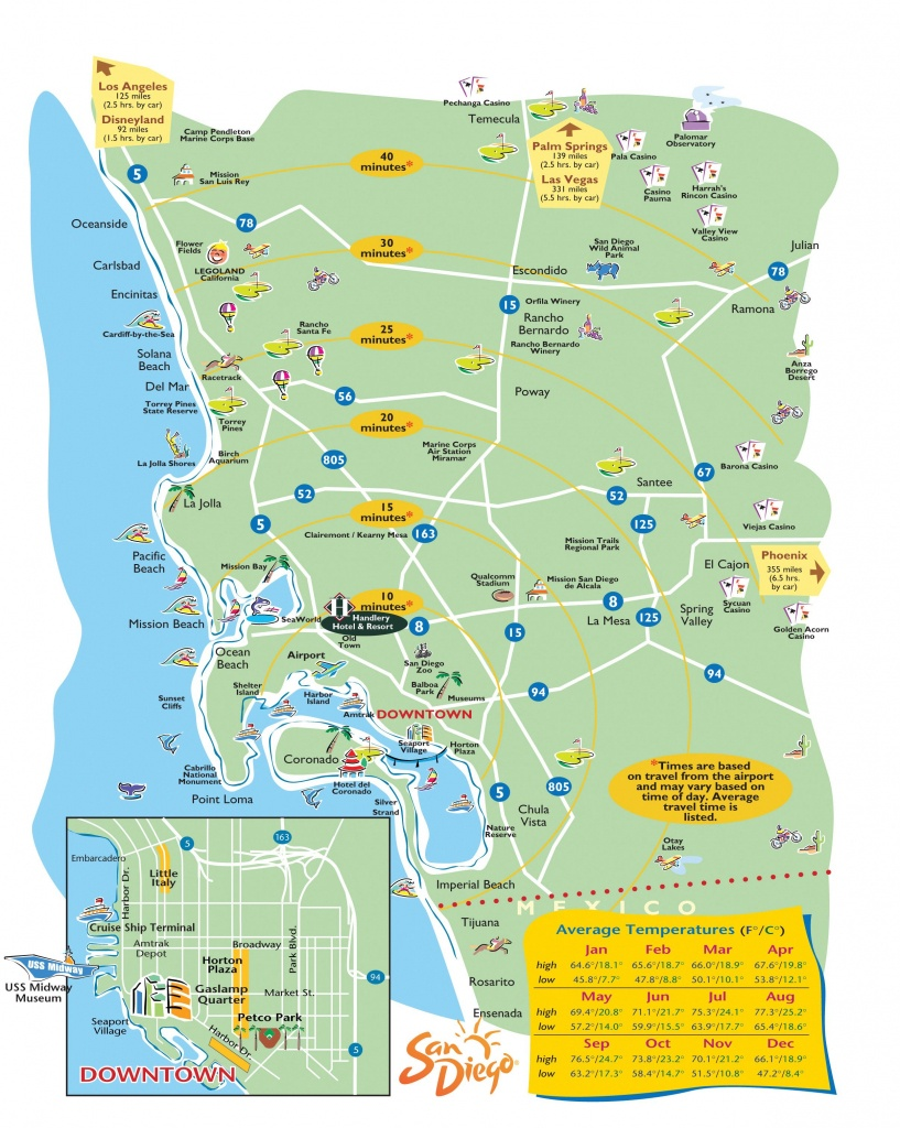 San Diego Map - Dr. Odd | Vacation Time!✈ | San Diego Map, San - San Diego County Zip Code Map Printable