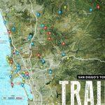 San Diego Trails Map   San Diego Hiking Trails Map (California   Usa)   California Hiking Trails Map