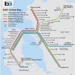 San Francisco Bart Map   Printable Bart Map