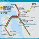 San Francisco Bay Area Metro Map (Bart)   Great Way To Get From The   Printable Bart Map