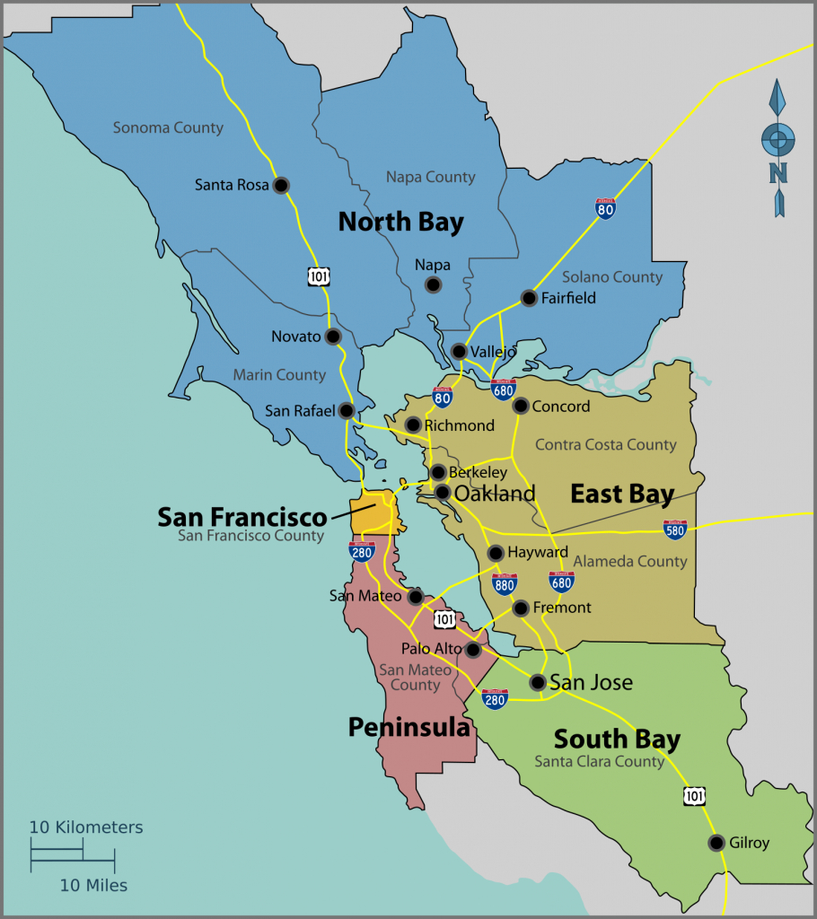 San Francisco Bay Area - Wikipedia - Where Is San Francisco California On Map