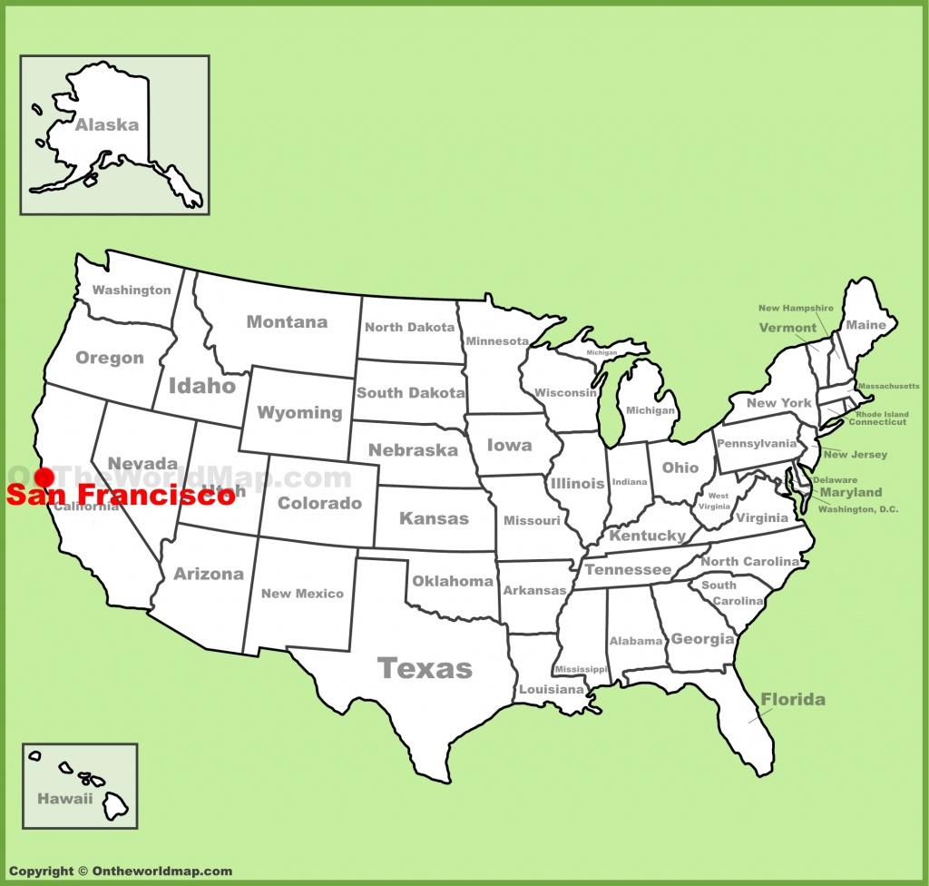 San Francisco Maps | California, U.s. | Maps Of San Francisco - Map Of San Francisco California Usa