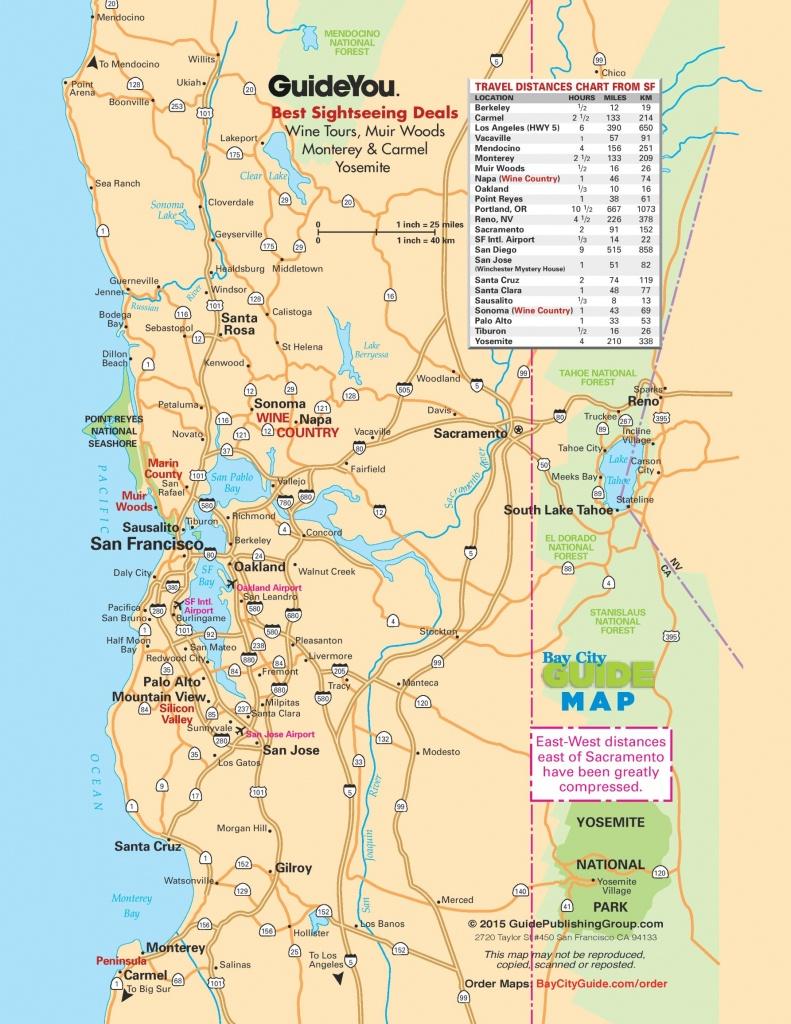 San Francisco Maps | California, U.s. | Maps Of San Francisco - Printable Map Of San Francisco Bay Area