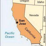 San Jose California Map   Map Of San Jose Ca (California   Usa)   San Jose California Map