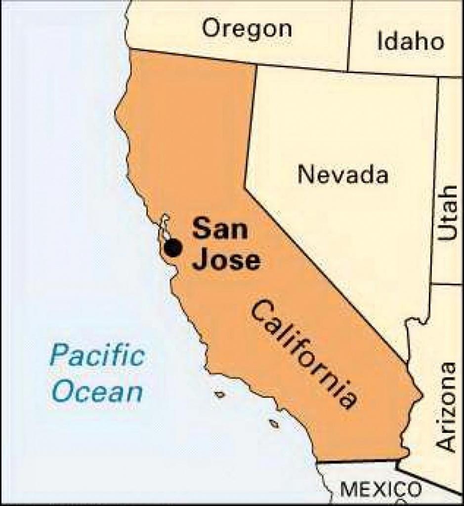 San Jose California Map - Map Of San Jose Ca (California - Usa) - San Jose California Map