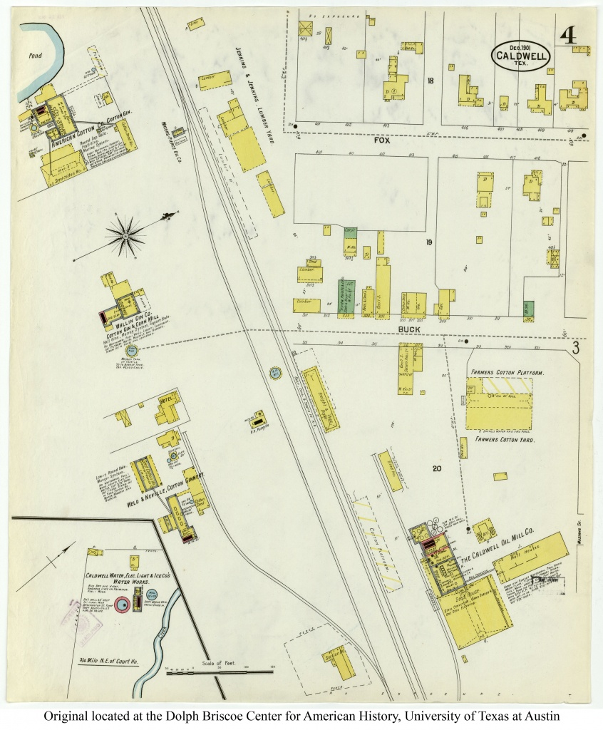 Sanborn Maps Of Texas - Perry-Castañeda Map Collection - Ut Library - Hull Texas Map