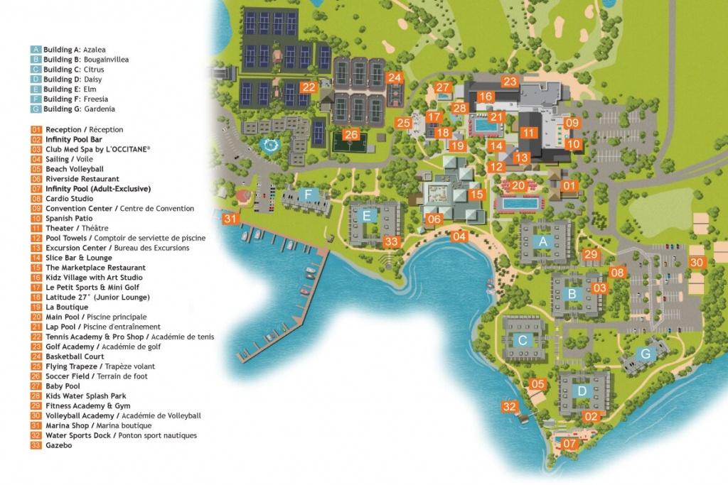 Sandpiper Bay- Florida / Usa   All-In Sports Holidays   Club Med - Club Med Florida Map