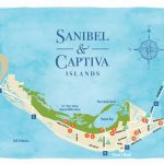 Sanibel Island Beaches And A Beach Map To Guide You   Road Map Of Sanibel Island Florida