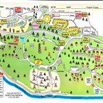Santa Paula, California Campground   Ventura Ranch Koa - California Camping Map