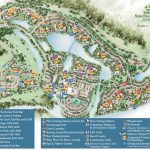 Saratoga Springs Resort Spa Map   Wdwinfo   Florida Hot Springs Map
