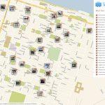 Savannah Printable Tourist Map In 2019 | Free Tourist Maps   Printable Map Of Savannah Ga