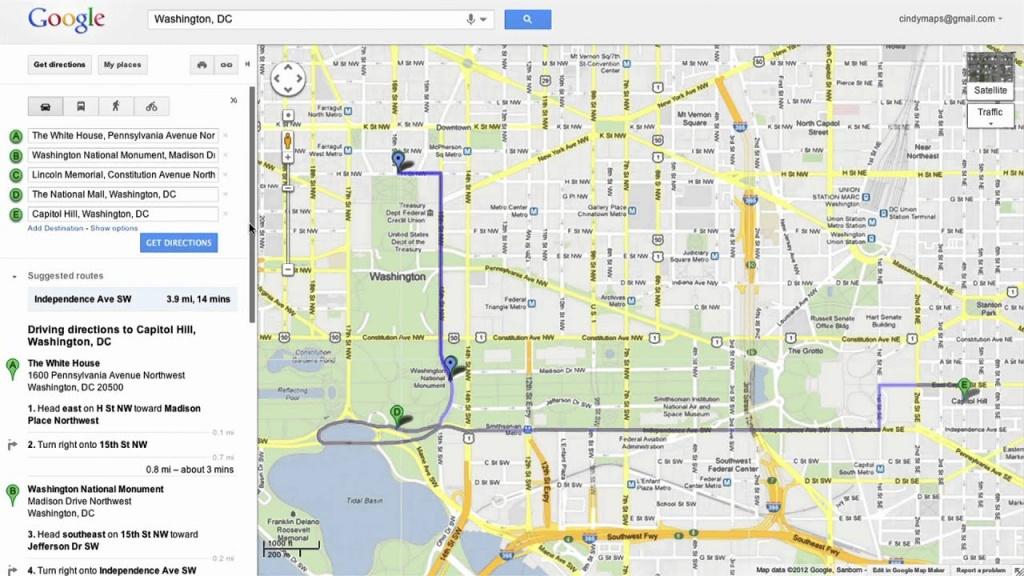 Saving Directions In Google Maps - Google Maps South Beach Florida