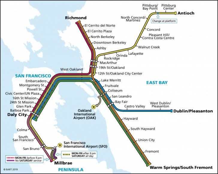 Map Of Dublin California Area