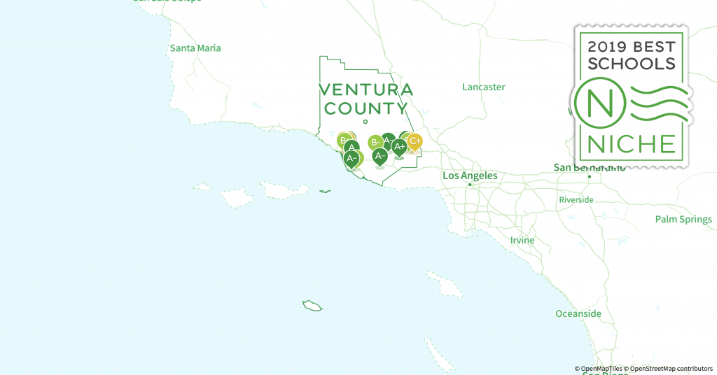 School Districts In Ventura County, Ca - Niche - California School District Rankings Map