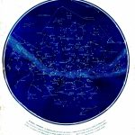 Science   Astronomy   Map   Celestial Map Of Constellations Visible   Free Printable Star Maps