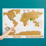 Scratch Map | Scratch Off World, World Poster | Uncommongoods   Texas Scratch Off Map