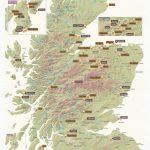Scratch Off Scotland Whisky Distilleries Print - Printable Map Of Scotland