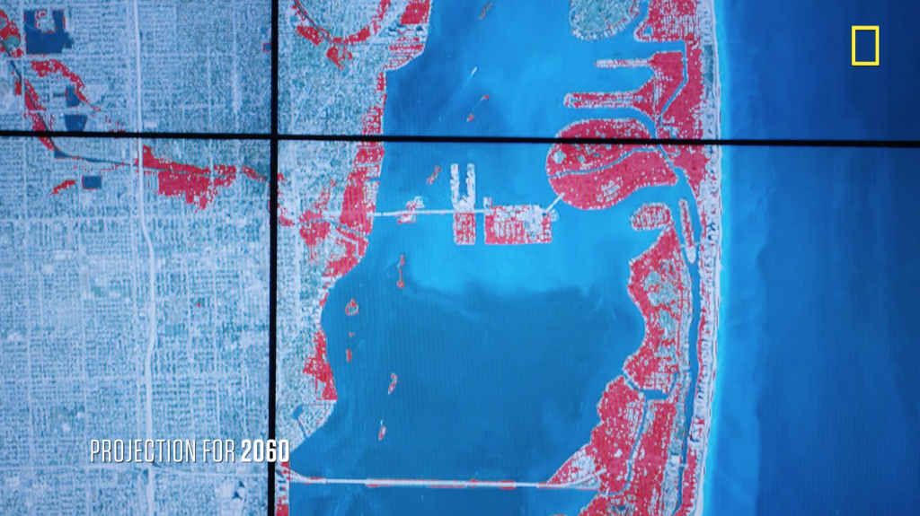Sea Level Rise And Coastal Cities | National Geographic Society - Florida Sea Level Rise Map