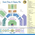 Seaside Dining And Shopping Map   Discover 30A Florida - Seaside Florida Map