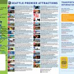Seattle Tourist Map And Travel Information | Download Free Seattle   Seattle Tourist Map Printable