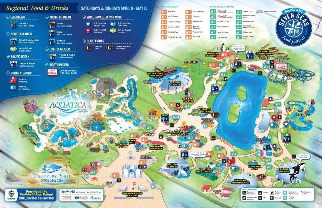 Seaworld Map San Diego   D1Softball - Seaworld San Diego Printable Map