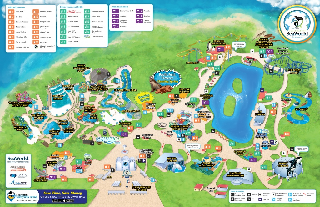 Seaworld Orlando Map Pdf New San Antonio Filefile Us Within Sea - Seaworld San Antonio Printable Map