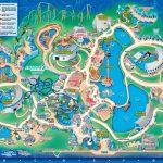 Seaworld Orlando Theme Park Map   Orlando Fl • Mappery | Aquariums   Sea World Florida Map
