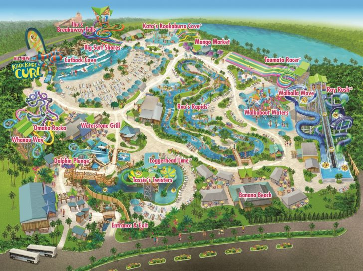 Aquatica Florida Map