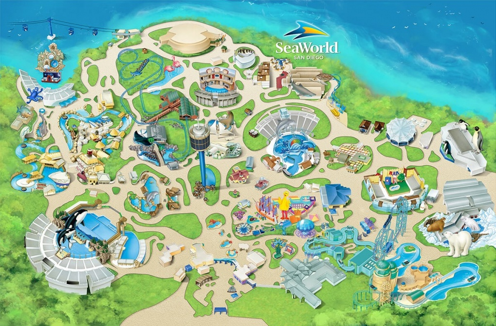 Seaworld San Diego Map Sea World 5 - World Wide Maps - Printable Sea World San Diego Map