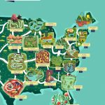 See The Usa As An Outdoor Theme Park With This Colourful Map   Florida Theme Parks On A Map
