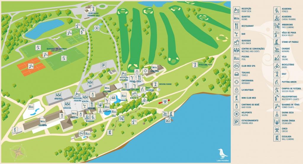 Séjours Tout Compris Avoriaz   Club Med - Club Med Florida Map