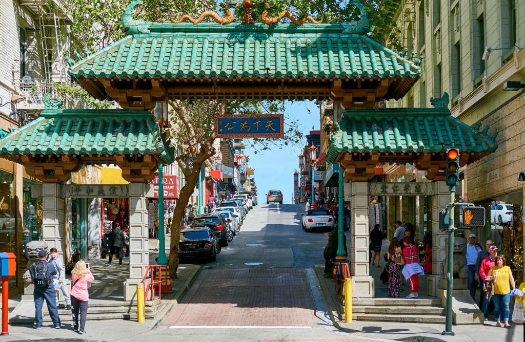 Self-Guided Walking Tour Of San Francisco Chinatown - Printable Map Of Chinatown San Francisco