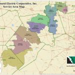 Service Territory Map   San Bernard Electric Cooperative   Texas Electric Cooperatives Map