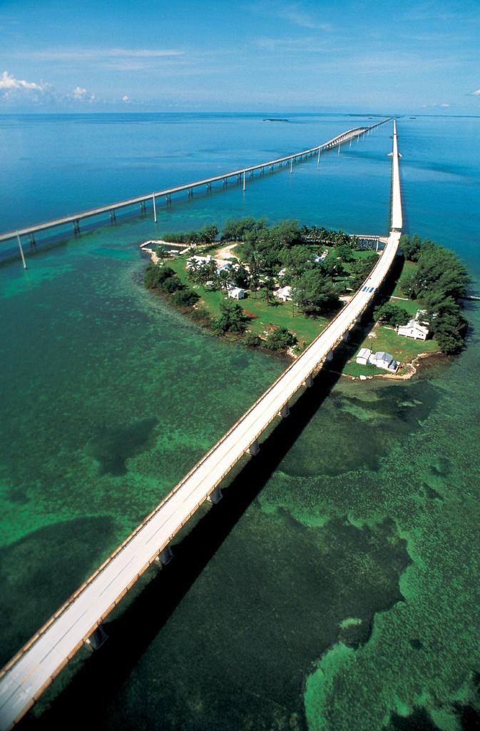 Seven Mile Bridge - Wikipedia - Google Maps Florida Keys