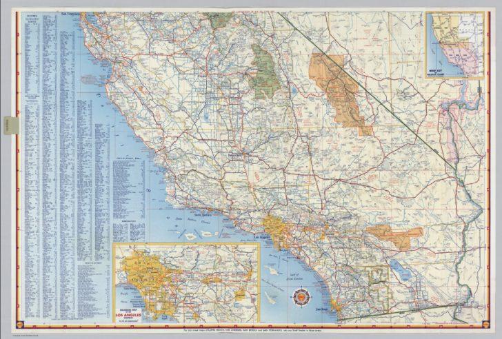 Driving Map Of California